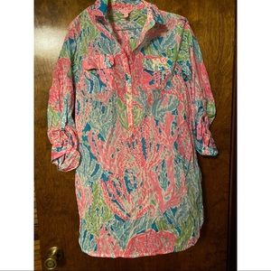 Lilly Pulitzer Button Down Dress